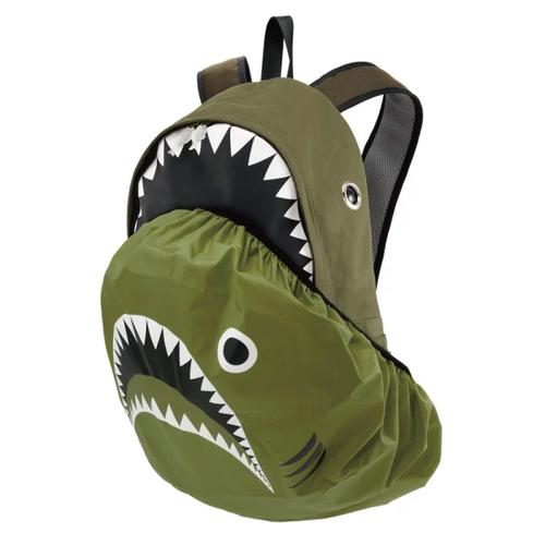 Morn Creations|正版鯊魚雨衣鯊魚背包 SK-228-GN 綠