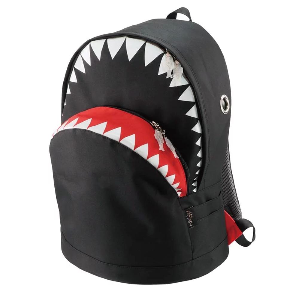 Morn Creations|正版鯊魚後背包 SK-128 L 黑