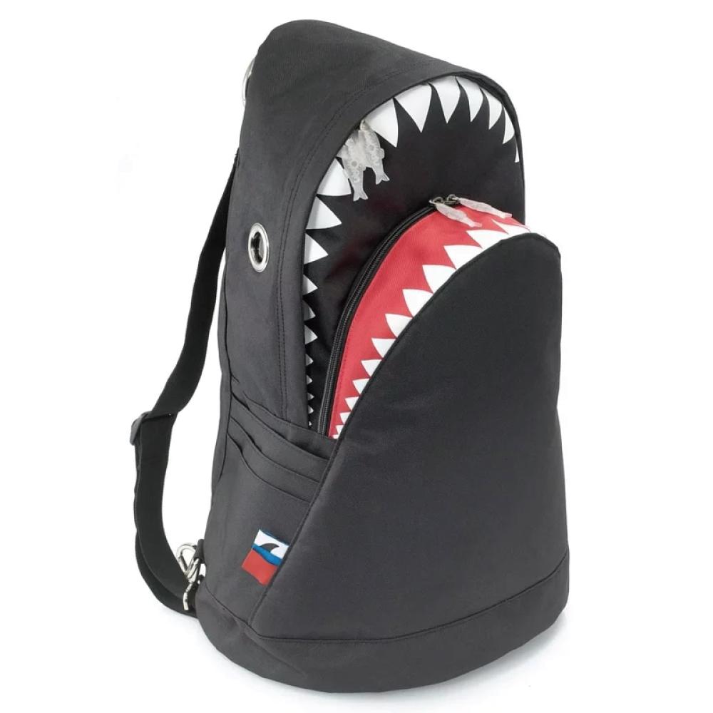 Morn Creations|正版鯊魚背包 SK-114-BK L 黑