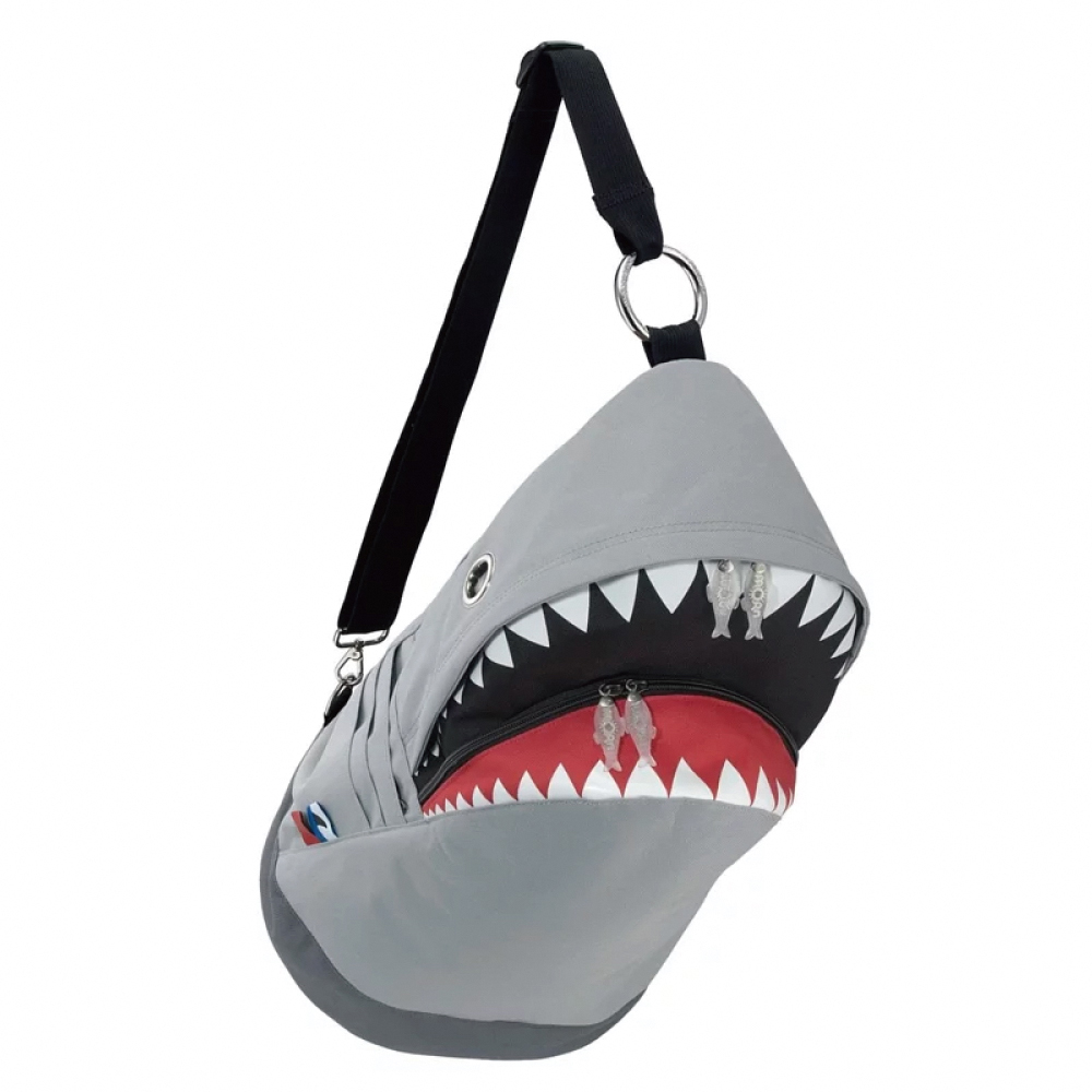 Morn Creations|正版鯊魚背包 SK-114-GY L 灰