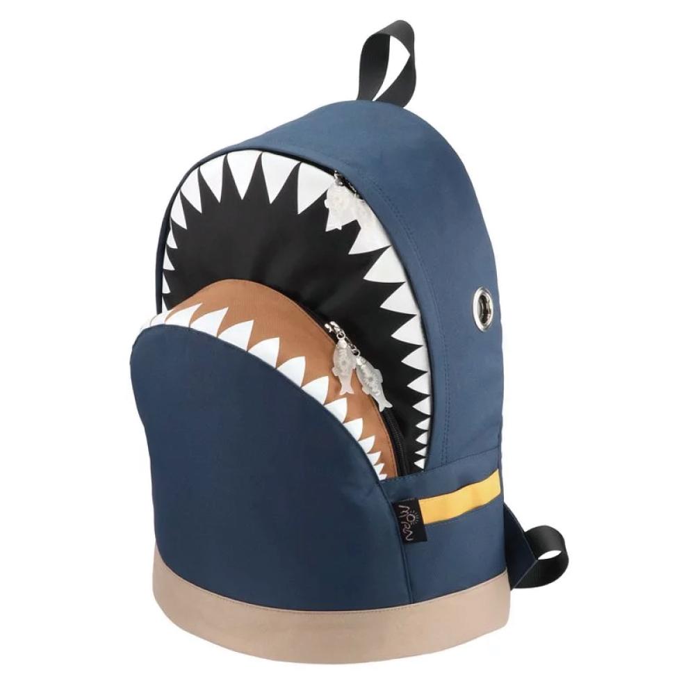 Morn Creations|正版鯊魚背包 SK-201-DB (L) 深藍