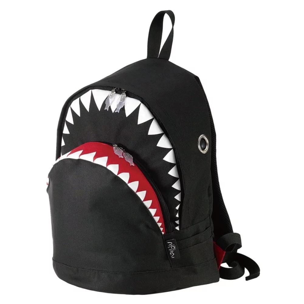 Morn Creations|正版鯊魚背包 SK-101-BK L 黑