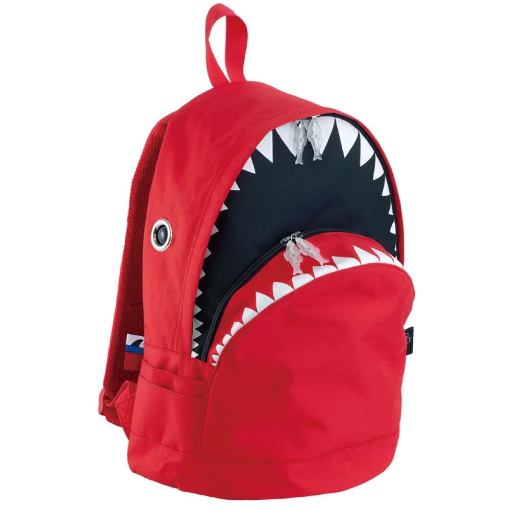 Morn Creations 正版鯊魚背包 SK-101-RD L 紅