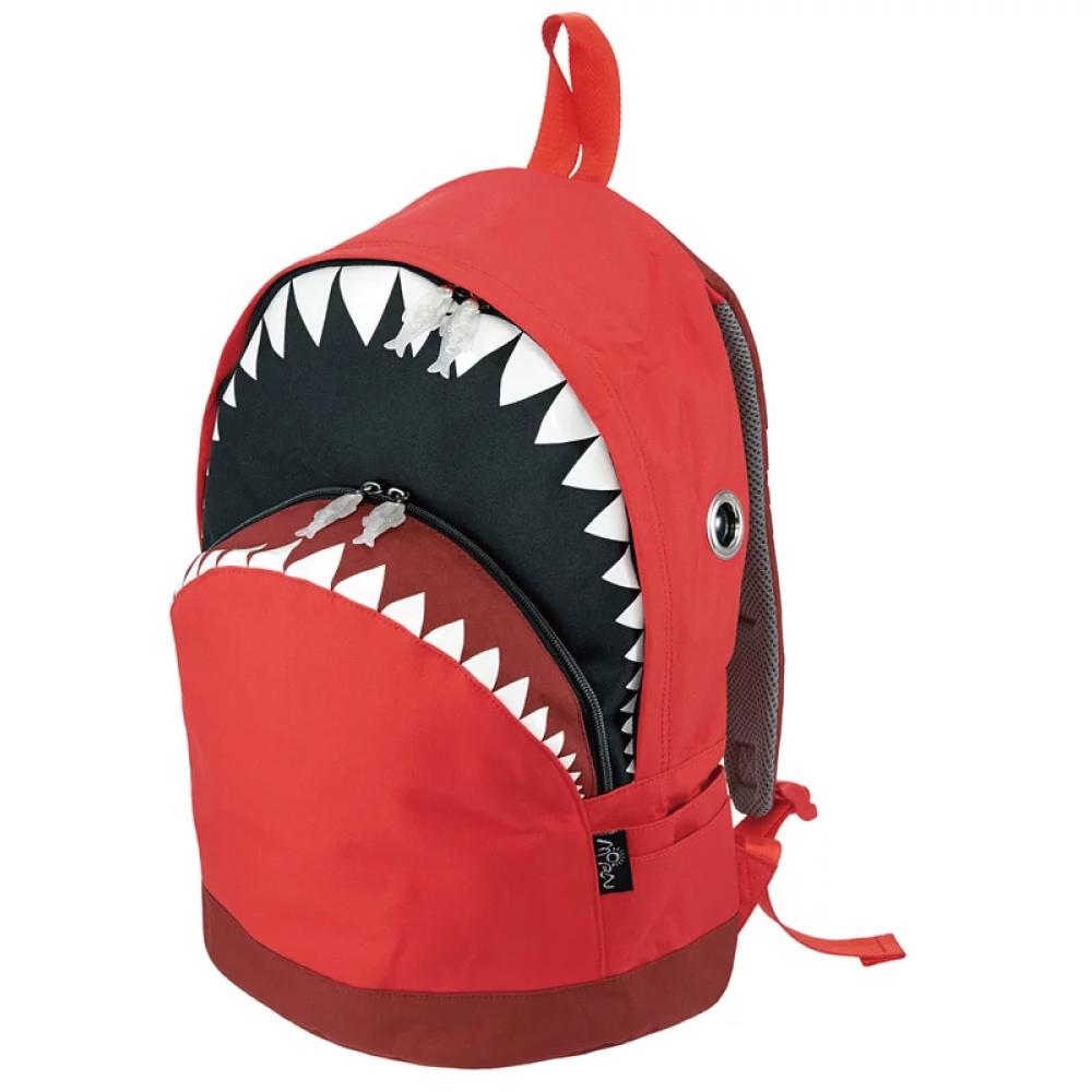Morn Creations 正版鯊魚背包 SK-201-RD (L) 玫紅