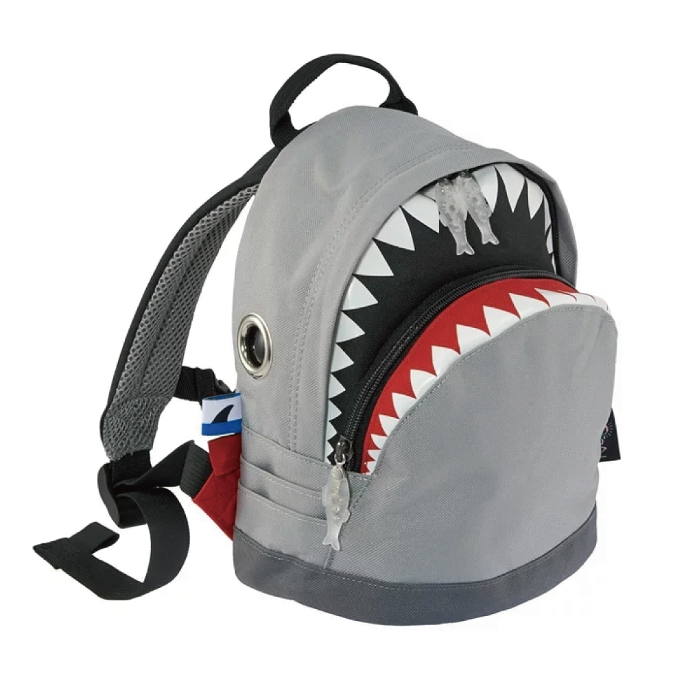 Morn Creations|正版鯊魚背包 SK-204-GY (S) 灰