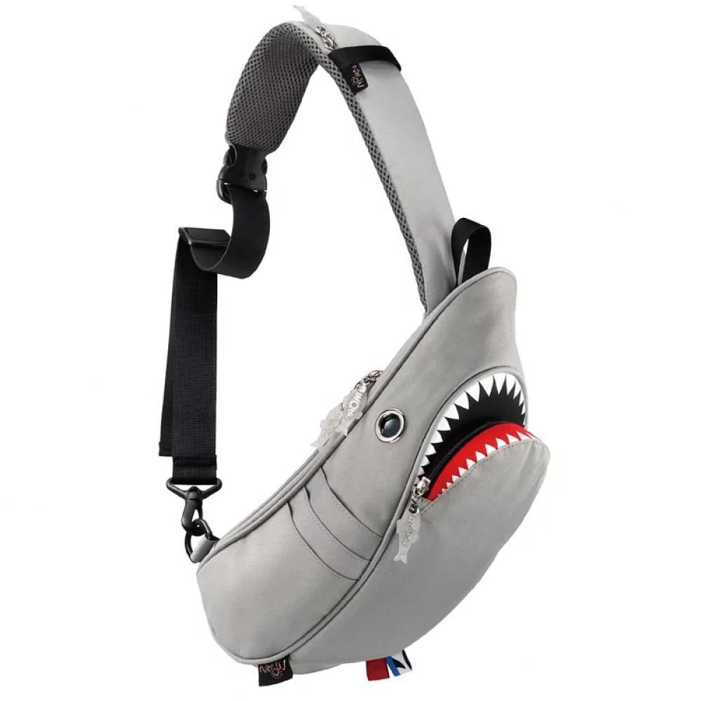 Morn Creations|正版鯊魚單肩包 SK-129-GY 灰