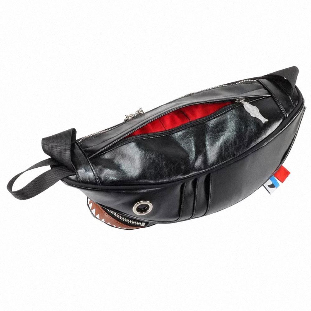 Morn Creations|正版鯊魚腰包 SK-510-BK 消光黑