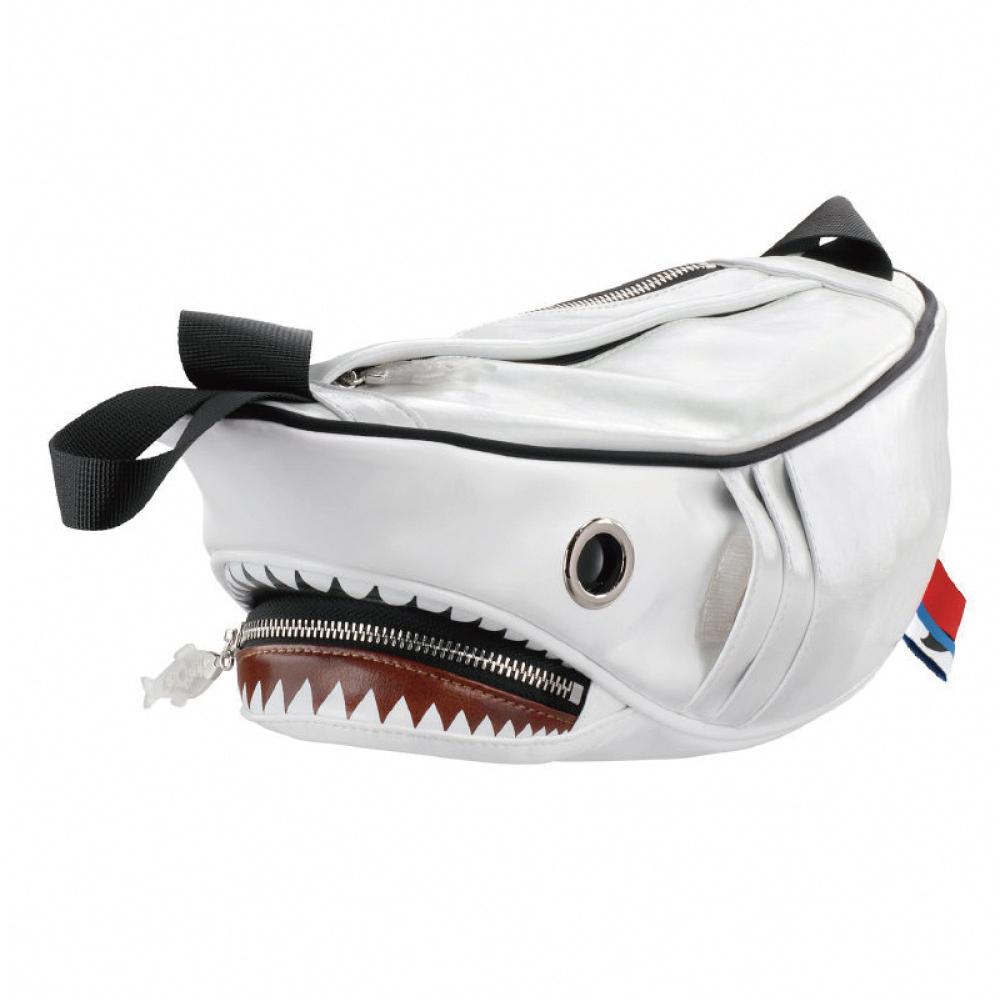 Morn Creations|正版鯊魚腰包 SK-510-WT 白