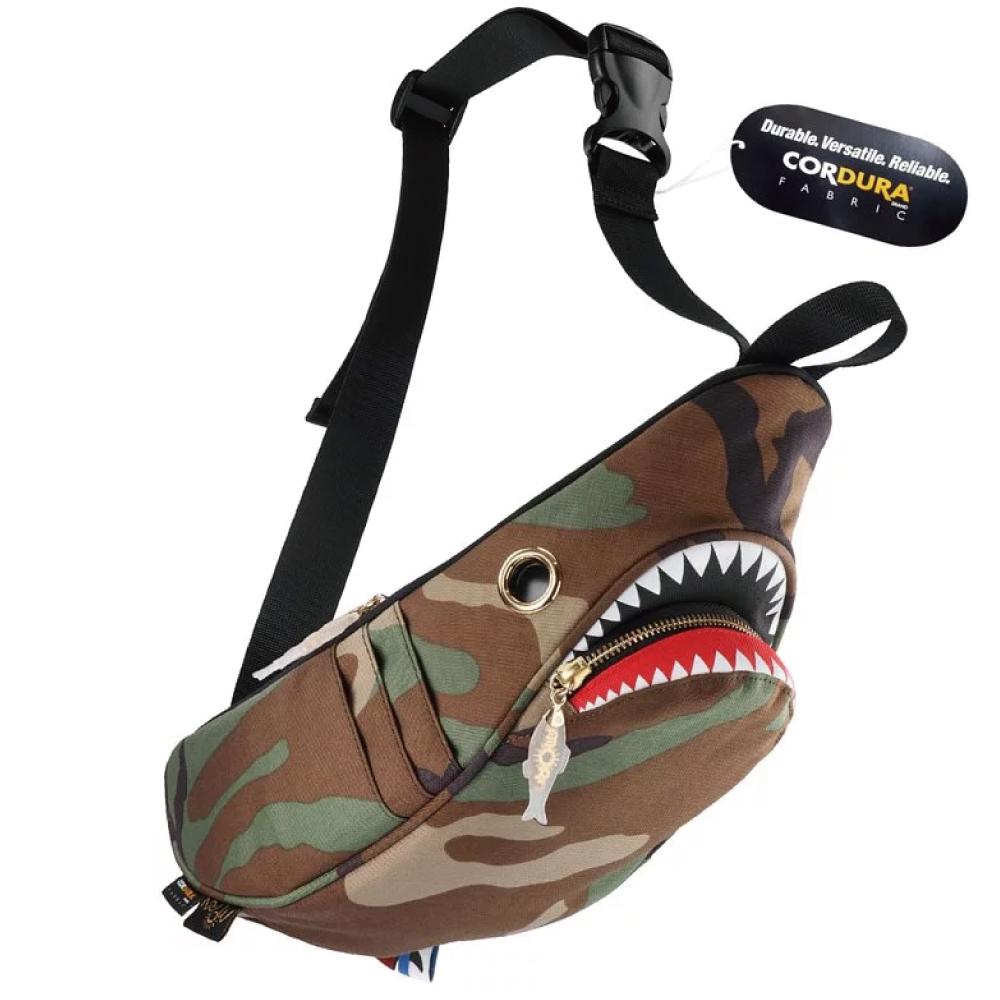 Morn Creations|正版鯊魚腰包 SK-410-CA 迷彩