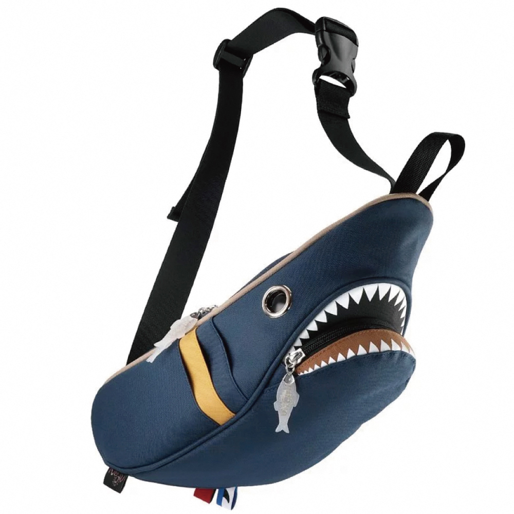 Morn Creations|正版鯊魚腰包 SK-210-DB 深藍