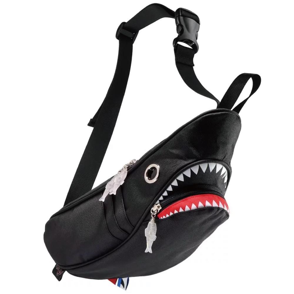 Morn Creations|正版鯊魚腰包 SK-110-BK 黑
