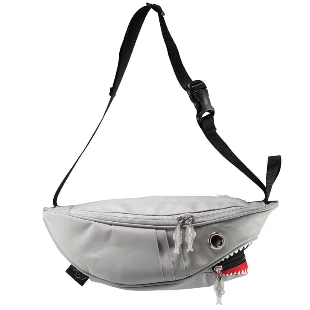 Morn Creations|正版鯊魚腰包 SK-110-GY 灰