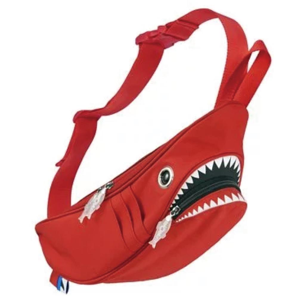 Morn Creations|正版鯊魚腰包 SK-110-RD 紅