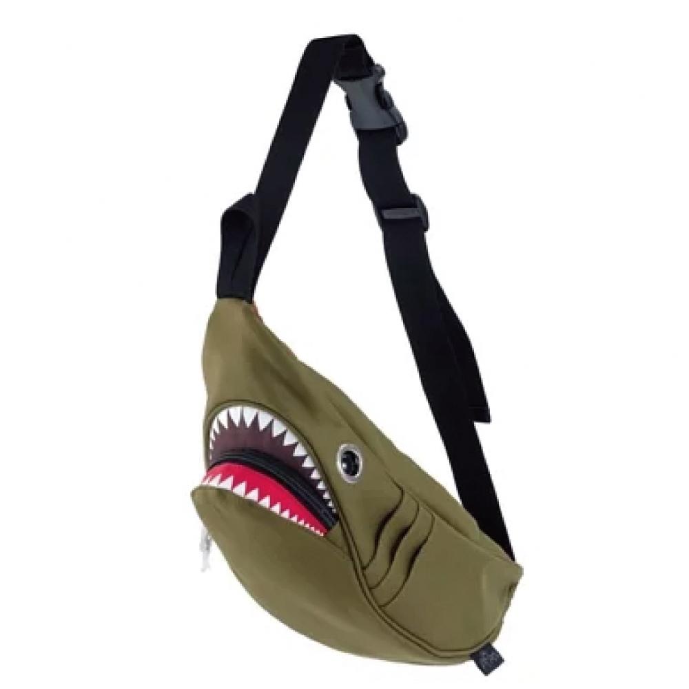 Morn Creations|正版鯊魚腰包 SK-113-GN 綠