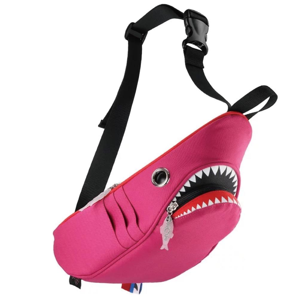 Morn Creations 正版鯊魚腰包 SK-210-PK 粉紅