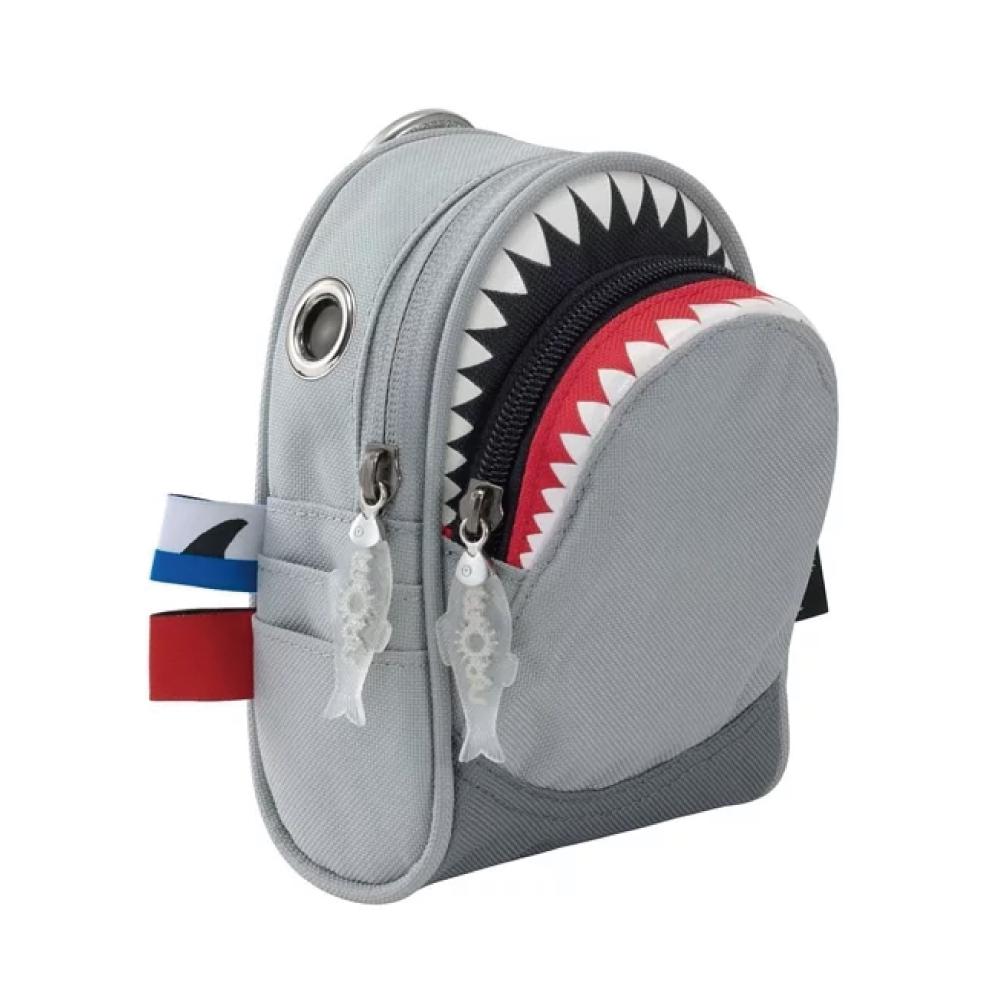 Morn Creations|正版鯊魚隨身零錢包 SK-105-GY 灰