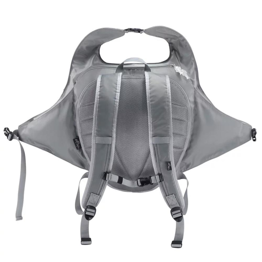 Morn Creations|正版魔鬼魚後背包 MR-101-GY 灰