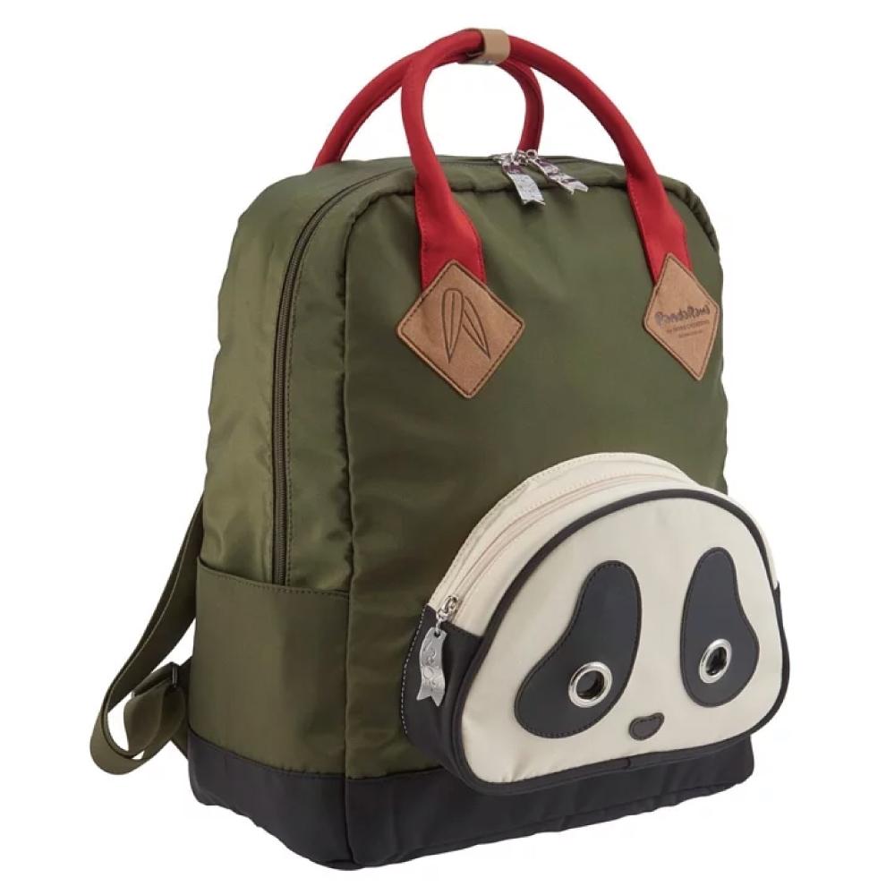 Morn Creations|原廠熊貓SCHOOL系列電腦後背包 SB-101-GN 綠色