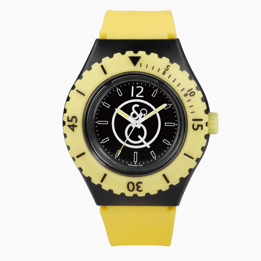 Q&Q SmileSolar|002太陽能潛水錶 大黃蜂 43mm