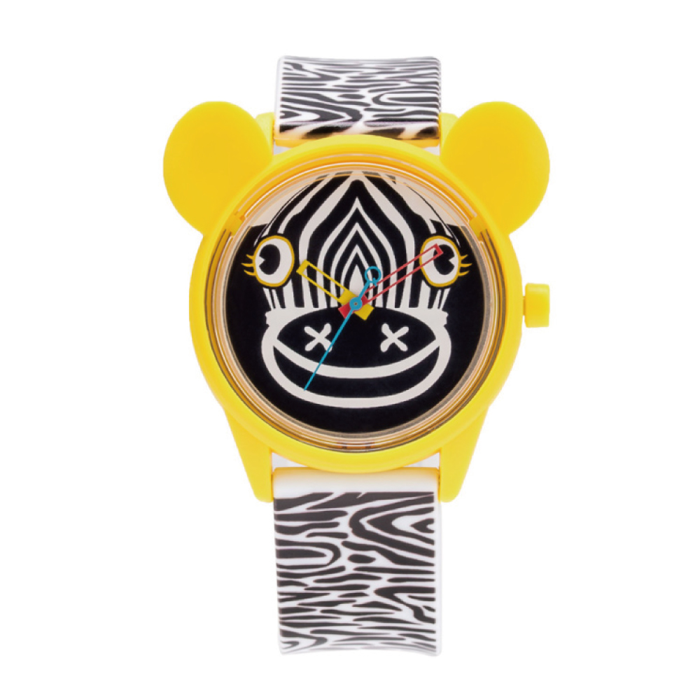 Q&Q SmileSolar 米蘭時裝款 限量太陽能錶 斑馬米奇 40mm
