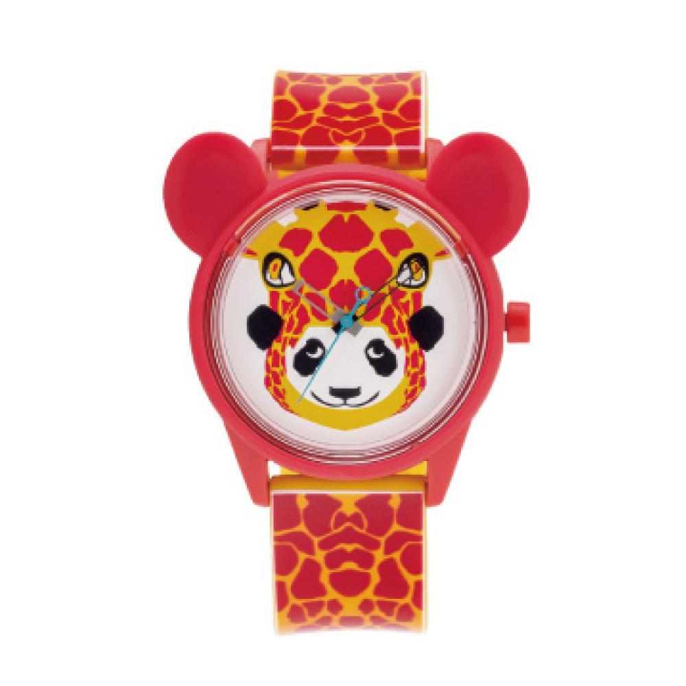 Q&Q SmileSolar 米蘭時裝款 限量太陽能錶 長頸鹿米奇 40mm