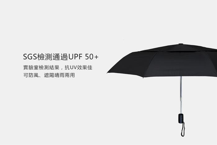 嘉雲製傘 JIAYUN|21吋雙層折疊傘 (黑)