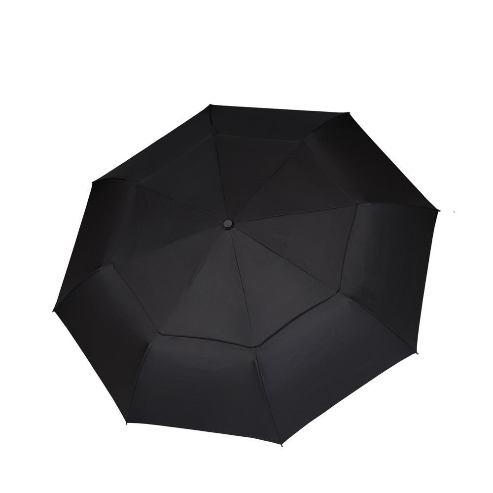嘉雲製傘 JIAYUN|21吋雙層輕便折疊傘 (黑)