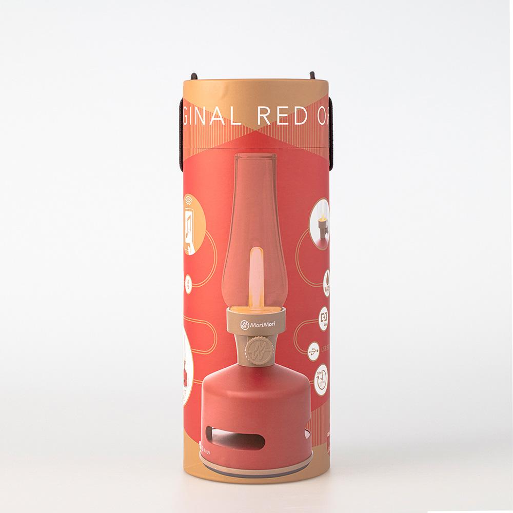 MoriMori LED煤油燈藍牙音響(祭典紅限量色)