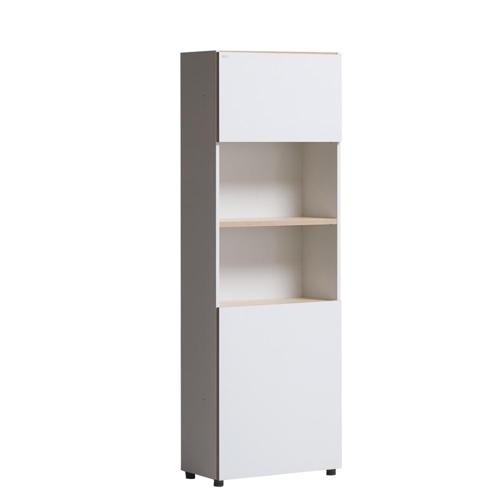 iloom 怡倫家居|Desker 600型 五層收納型書櫃|附門板