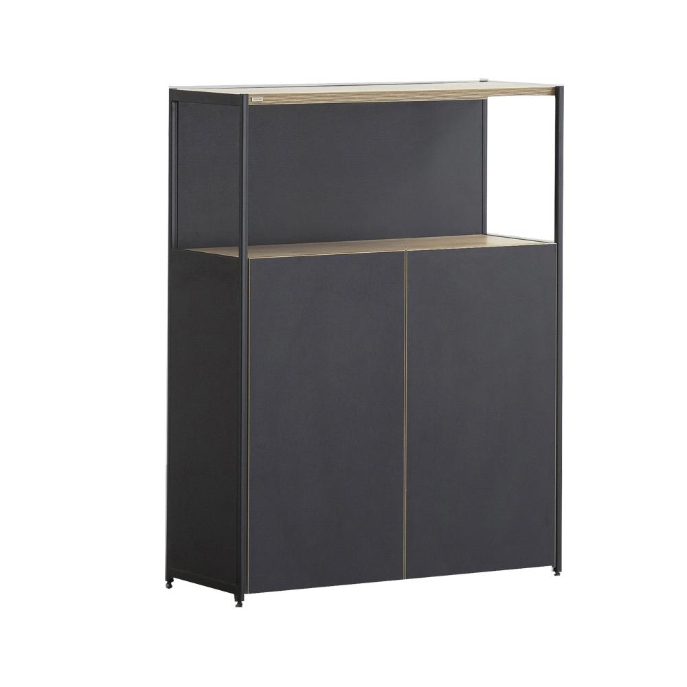 iloom 怡倫家居|Desker 800型 三層收納書櫃|三色可選