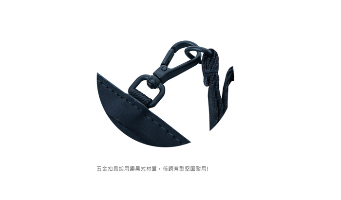 (複製)AXIO|KISS Shoulder bag 隨身帆布肩背包 (AKT-536S) 黑色