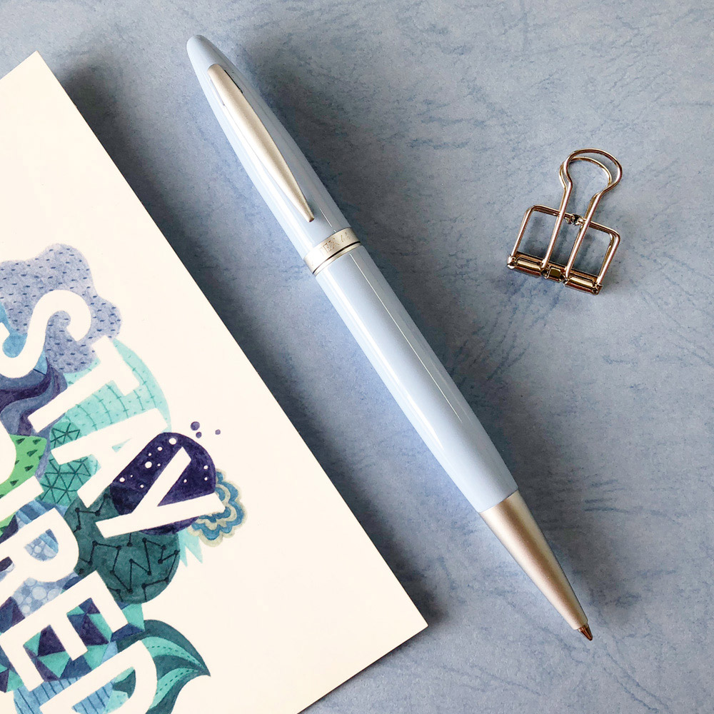 ARTEX|含客製化刻字- 開心原子筆-迷迭香