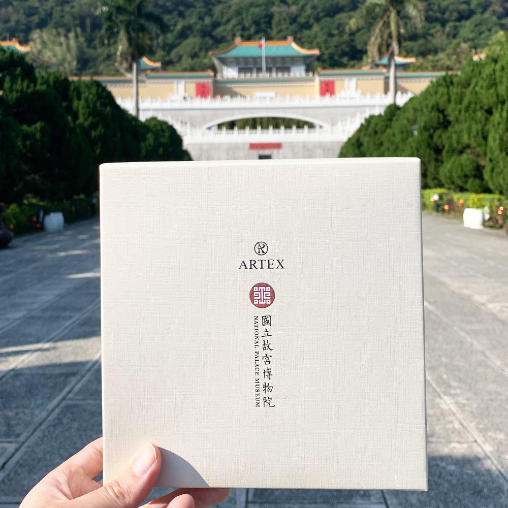 【集購】ARTEX|平安富貴鋼珠筆禮盒 -  國立故宮聯名限定(三色任選)