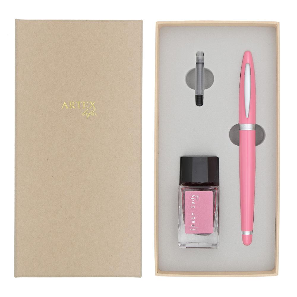 ARTEX|含客製化刻字-超值筆墨禮盒組-窈窕淑女