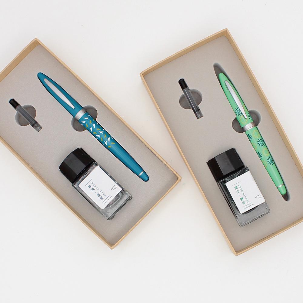 【集購】ARTEX|開心鋼筆墨水禮盒(印花樂聯名設計)