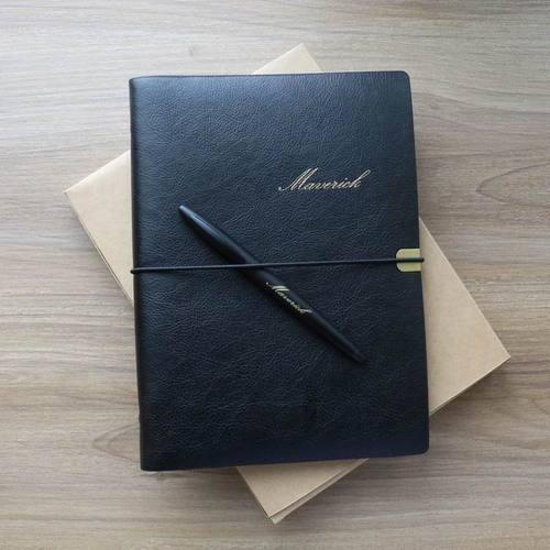HAPPYMT|(免費客製化燙金)HAPPYMT六孔活頁手帳/筆記本