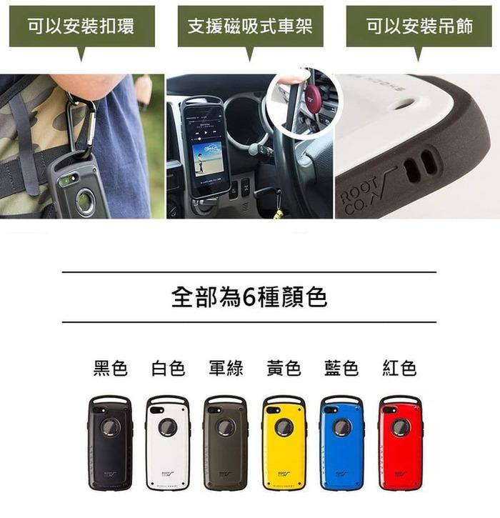 (複製)日本 ROOT CO. iPhone 11 Pro Max Gravity Hold. 雙掛勾式軍規防摔手機保護殼 - 共六色