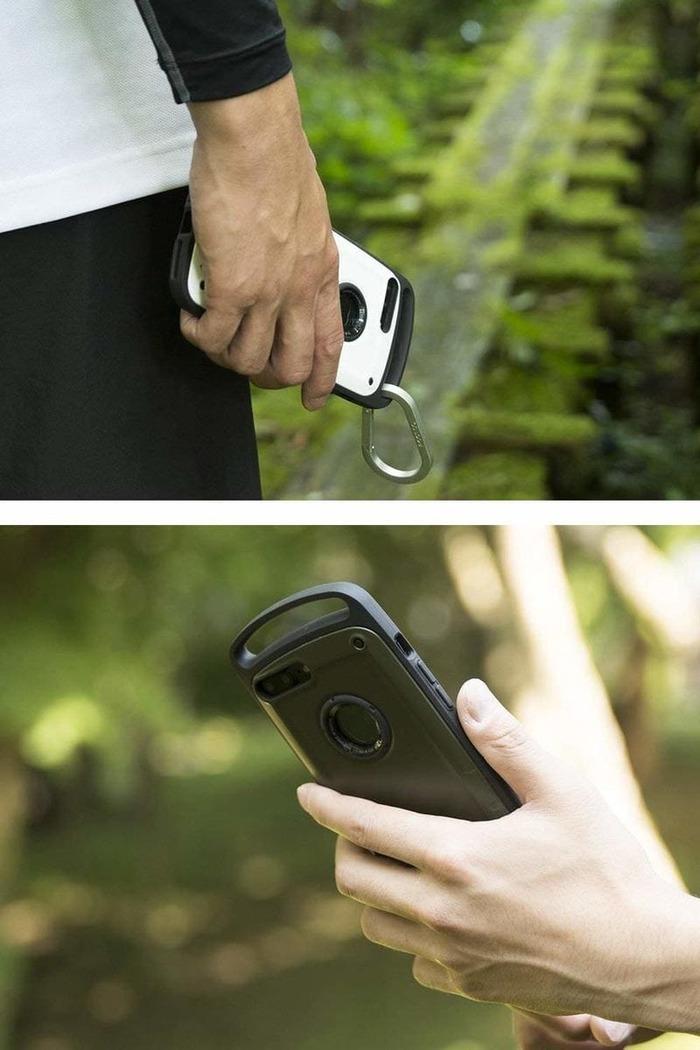 日本 ROOT CO. iPhone 7 / 8 Plus Gravity Pro 單掛勾式軍規防摔手機保護殼 - 共六色