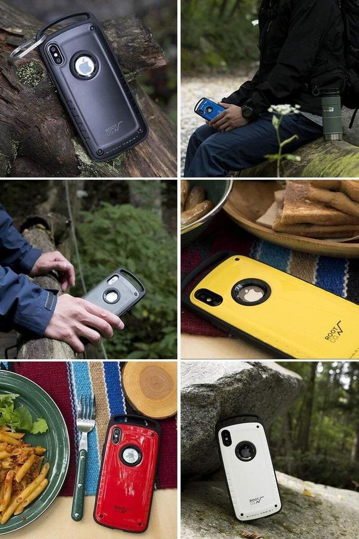 (複製)日本 ROOT CO. iPhone 7 / 8 Plus Gravity Pro 單掛勾式軍規防摔手機保護殼 - 共六色