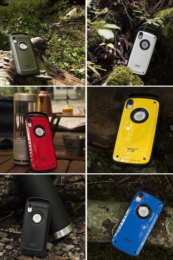 (複製)日本 ROOT CO. iPhone X / Xs Gravity Pro 單掛勾式軍規防摔手機保護殼 - 共六色