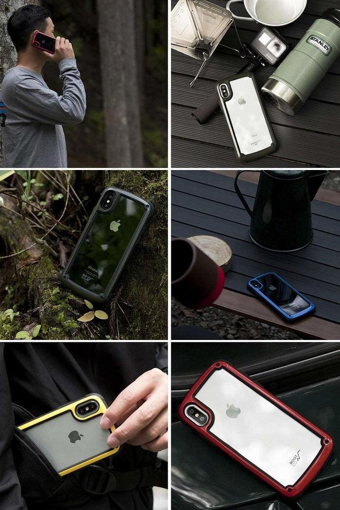 (複製)日本 ROOT CO.│iPhone 7 / 8 Plus Tough & Basic 透明背板軍規防摔手機保護殼 - 共六色