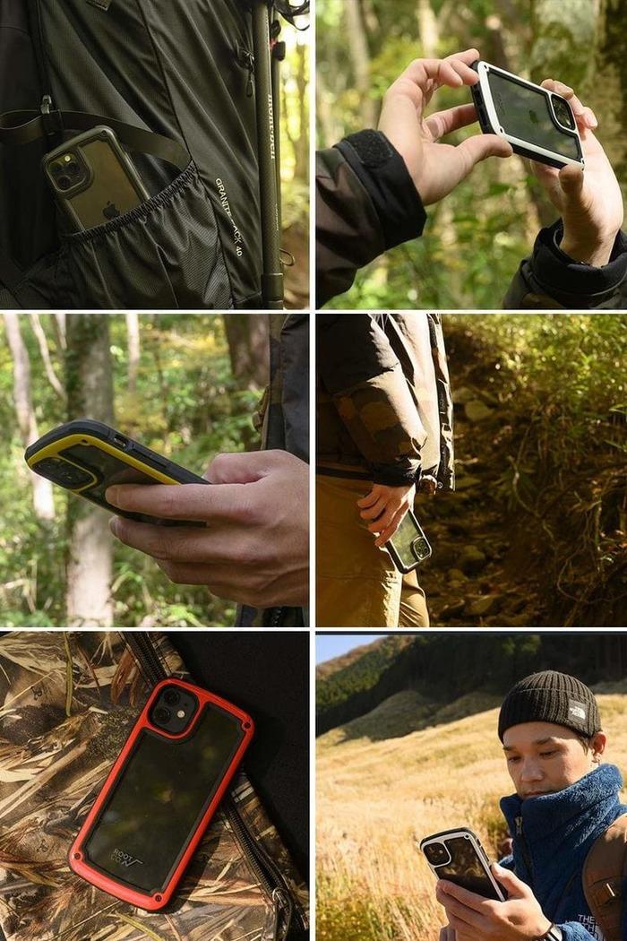 (複製)日本 ROOT CO.│iPhone 11 Tough & Basic 透明背板軍規防摔手機保護殼 - 共六色