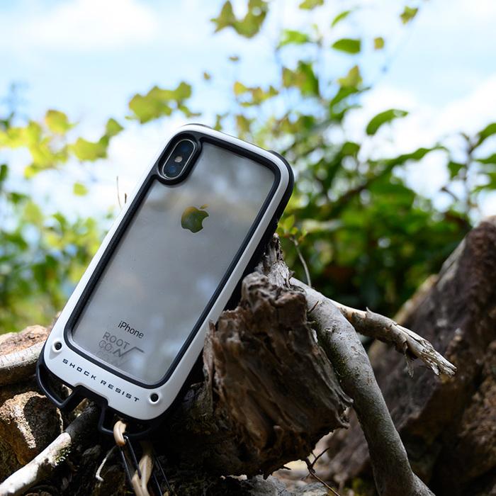 (複製)日本 ROOT CO.|iPhone SE2 / 7 / 8 Gravity Hold. 雙掛勾+360度旋轉登山扣 - 共六色