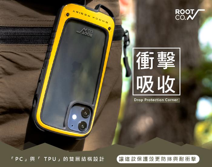 日本 ROOT CO. iPhone 12 Pro Max Gravity Hold. 雙掛勾式軍規防摔手機保護殼 - 共五色