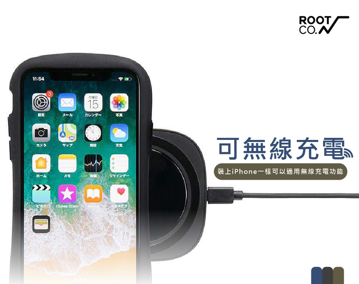 日本 ROOT CO.|iPhone 12 mini iFace 小蠻腰+腕帶吊繩 - 共三色