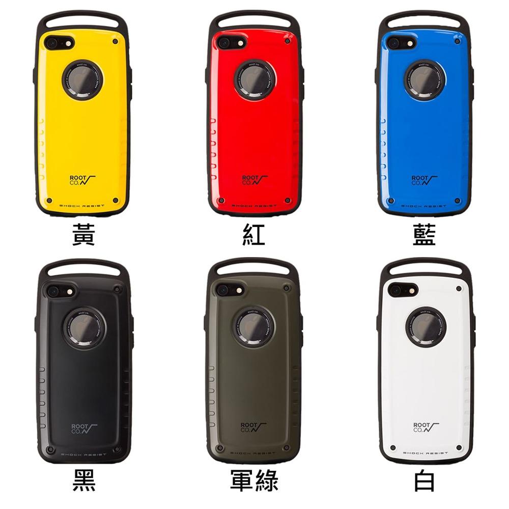 日本 ROOT CO.│iPhone 7 / 8 Gravity Pro 單掛勾式軍規防摔手機保護殼 - 共六色