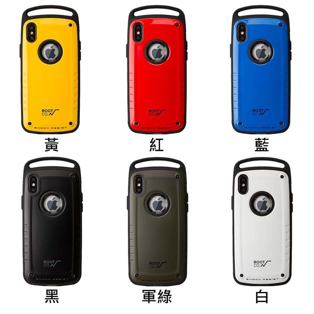 日本 ROOT CO.│iPhone X / Xs Gravity Pro 單掛勾式軍規防摔手機保護殼 - 共六色