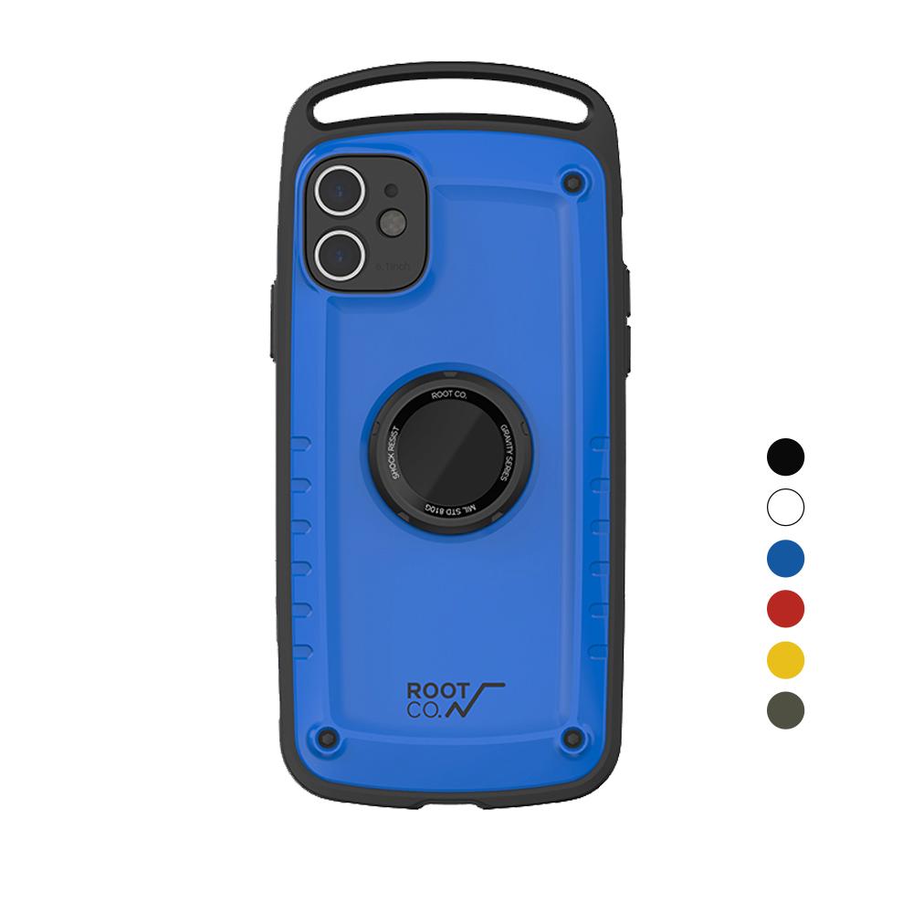 日本 ROOT CO.│iPhone 11 Gravity Pro 單掛勾式軍規防摔手機保護殼 - 共六色