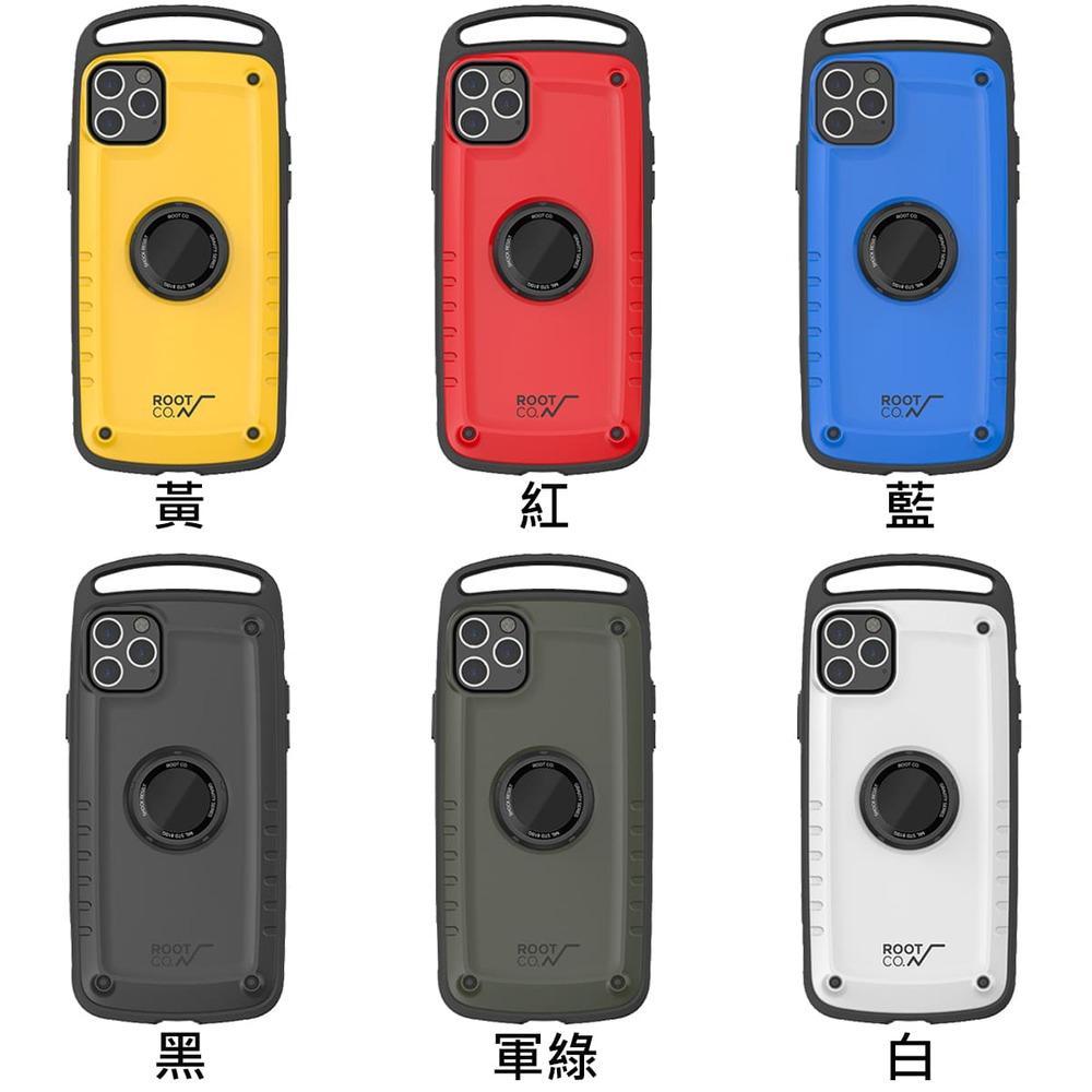 日本 ROOT CO.│iPhone 11 Pro Max Gravity Pro 單掛勾式軍規防摔手機保護殼 - 共六色