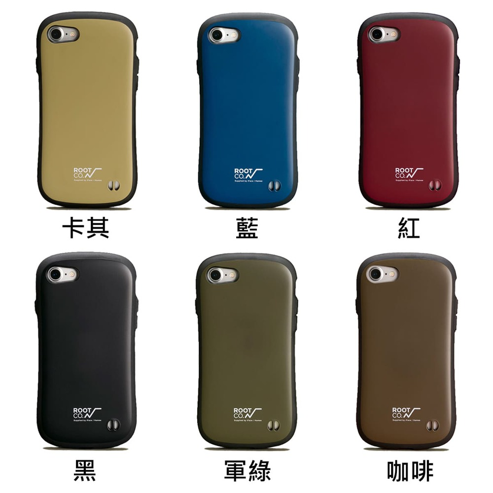 日本 ROOT CO.│iPhone SE2 / 7 / 8 iFace 小蠻腰軍規防摔手機保護殼 - 共六色